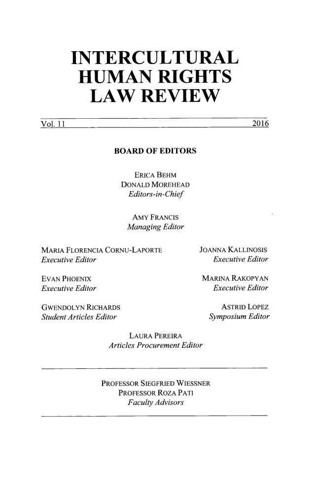 handle is hein.journals/ichuman11 and id is 1 raw text is: 