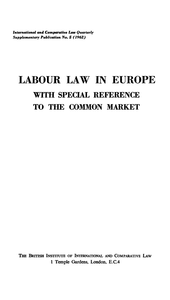 handle is hein.journals/icqlsup5 and id is 1 raw text is: International and Comparative Law Quarterly