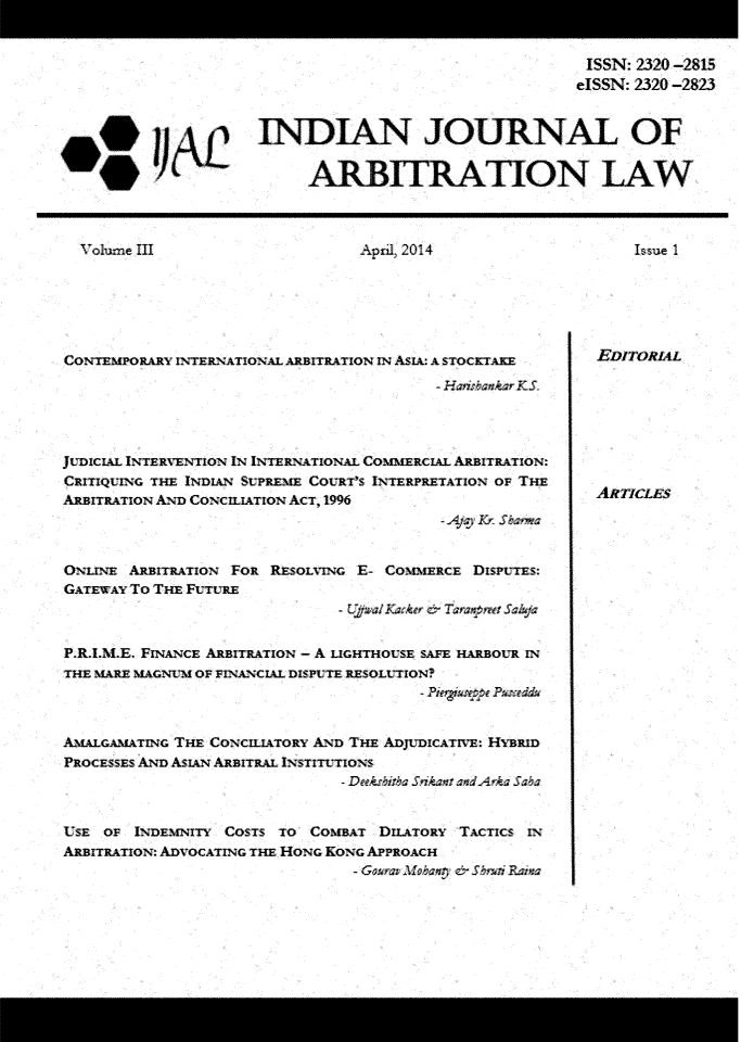 handle is hein.journals/ijal3 and id is 1 raw text is: 