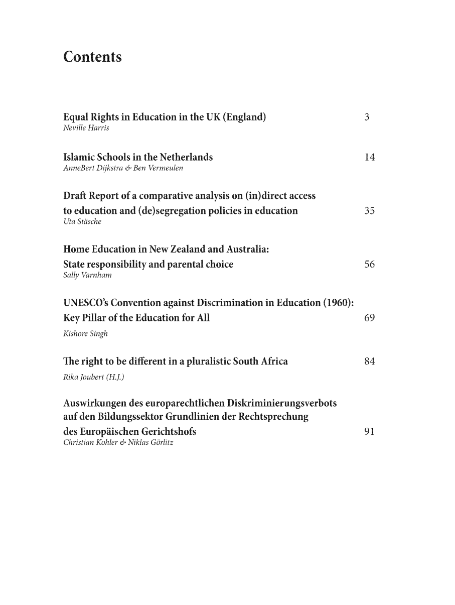 handle is hein.journals/ijelp4 and id is 1 raw text is: Contents