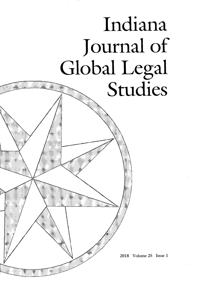 handle is hein.journals/ijgls25 and id is 1 raw text is:       Indiana