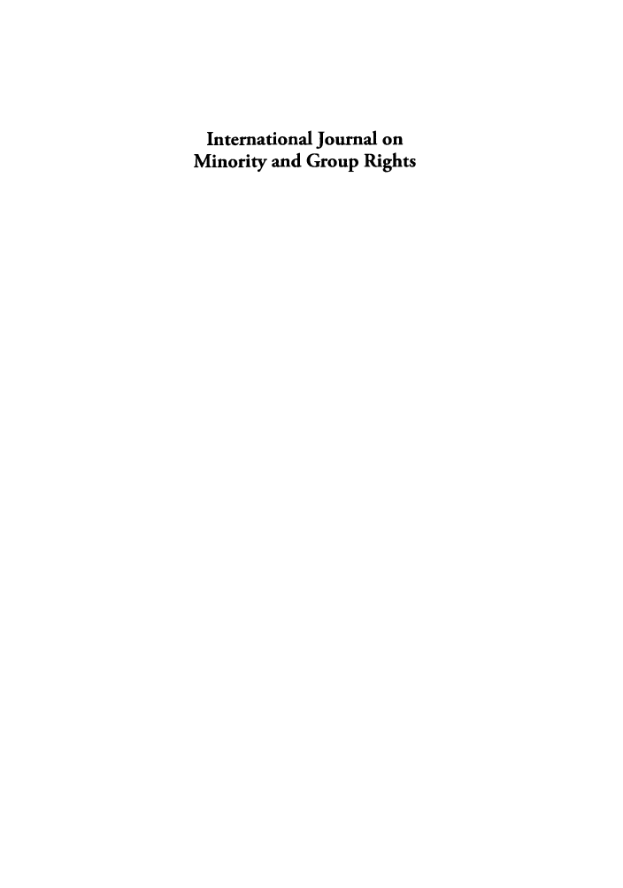 handle is hein.journals/ijmgr19 and id is 1 raw text is: International Journal on