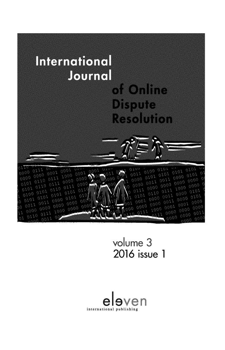 handle is hein.journals/ijodr3 and id is 1 raw text is: 