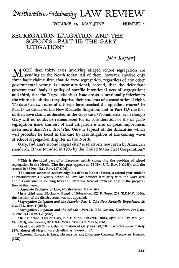 handle is hein.journals/illlr59 and id is 135 raw text is: rtkwaer, , /nivme,                    LAW           REVIEW
