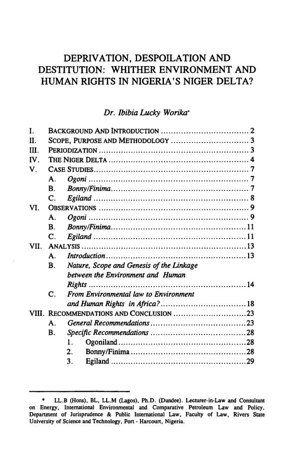 handle is hein.journals/ilsaic8 and id is 11 raw text is: DEPRIVATION, DESPOILATION AND