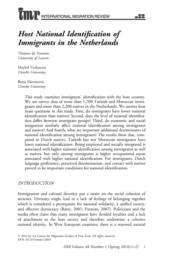 handle is hein.journals/imgratv48 and id is 1 raw text is: 