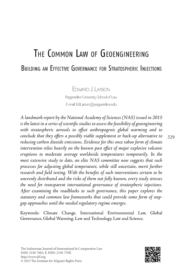 handle is hein.journals/indjicl2 and id is 355 raw text is: 