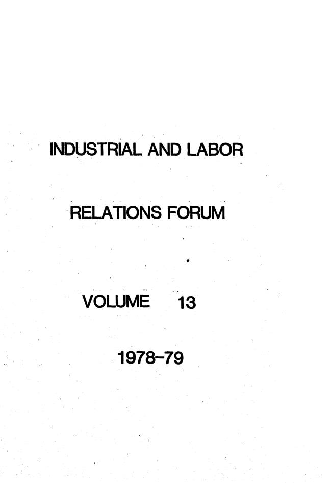 handle is hein.journals/indlref13 and id is 1 raw text is: INDUSTRIAL AND LABOR