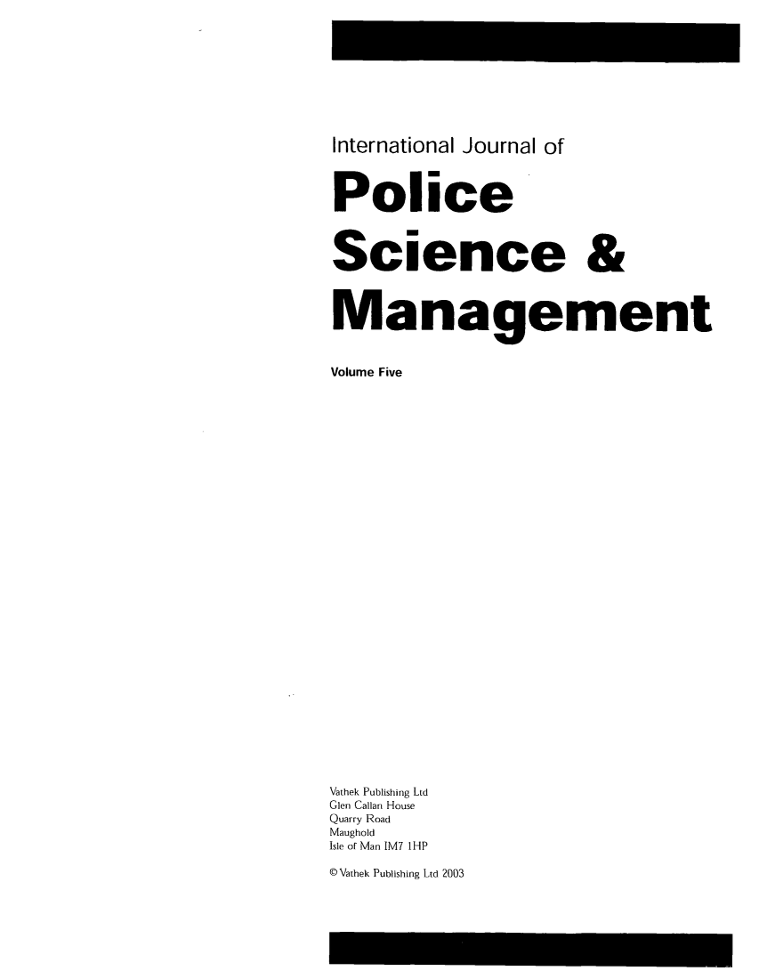 handle is hein.journals/injposcim5 and id is 1 raw text is: International Journal of