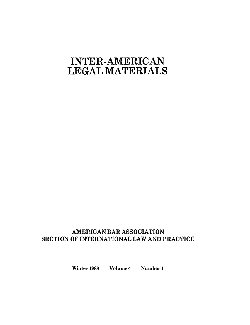 handle is hein.journals/intamlm4 and id is 1 raw text is: INTER-AMERICAN