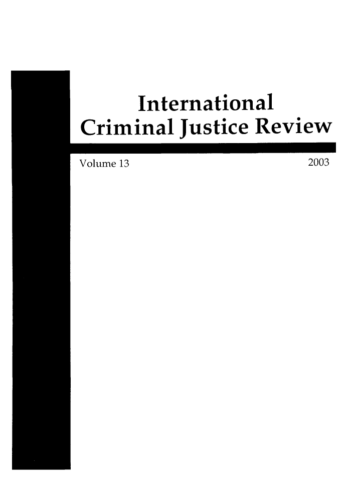 handle is hein.journals/intcrm13 and id is 1 raw text is: International