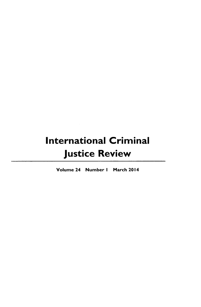 handle is hein.journals/intcrm24 and id is 1 raw text is: 