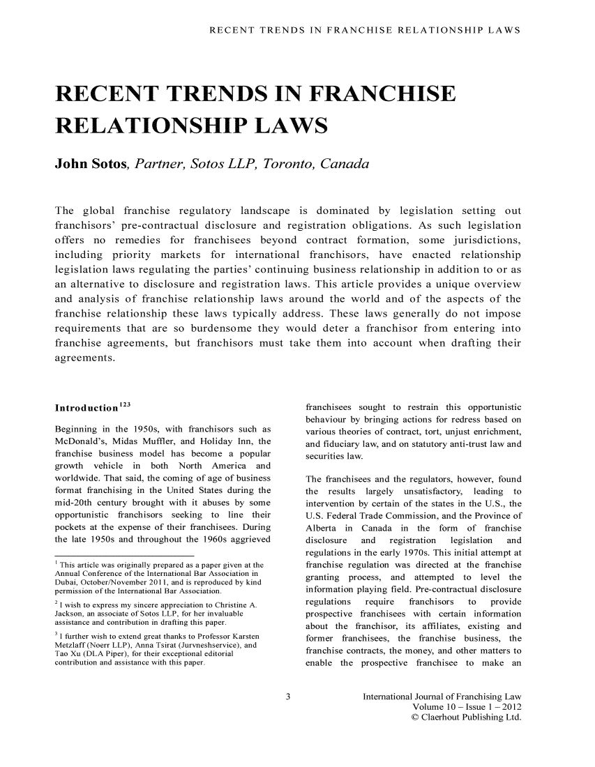 handle is hein.journals/intjoflw10 and id is 1 raw text is: 