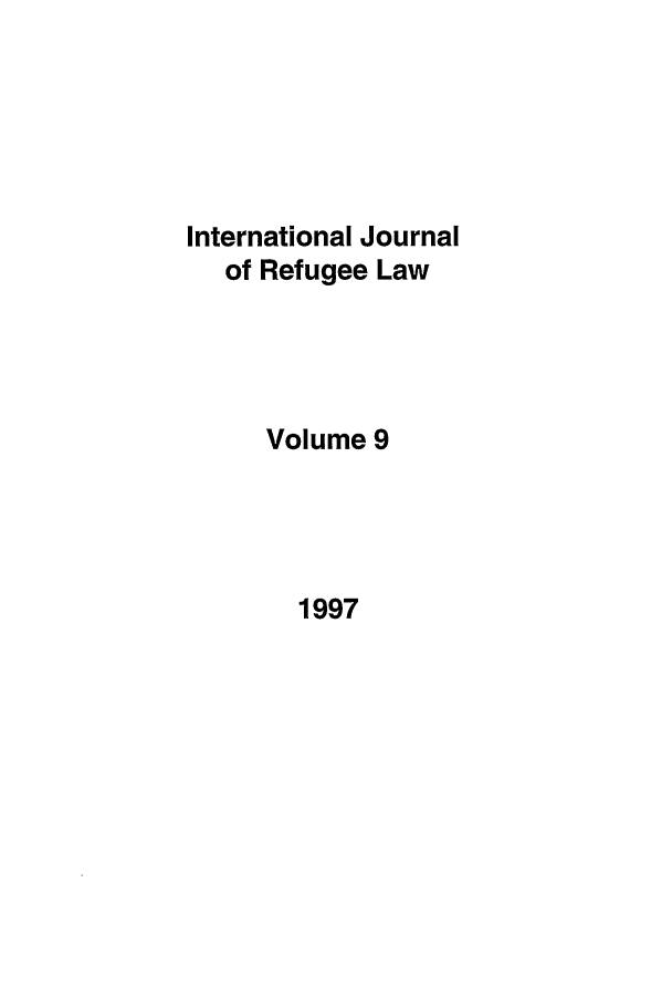 handle is hein.journals/intjrl9 and id is 1 raw text is: 
