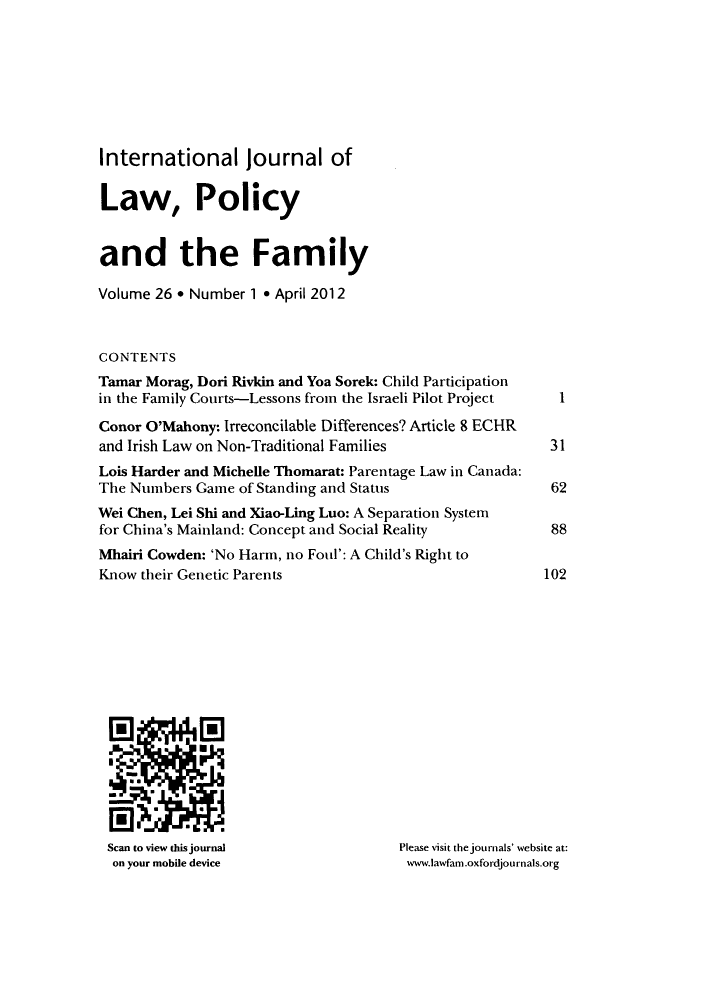 handle is hein.journals/intlpf26 and id is 1 raw text is: International journal of