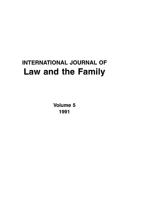 handle is hein.journals/intlpf5 and id is 1 raw text is: INTERNATIONAL JOURNAL OF