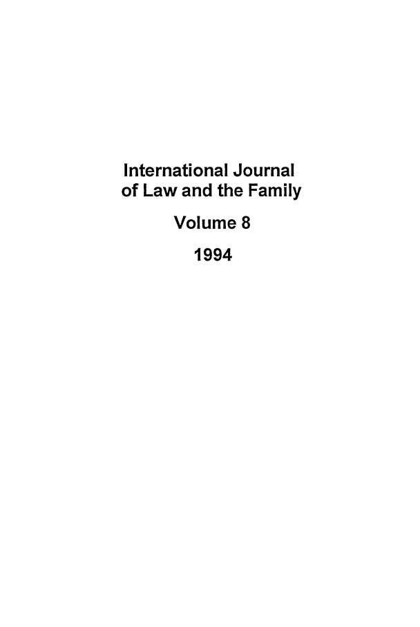 handle is hein.journals/intlpf8 and id is 1 raw text is: International Journal