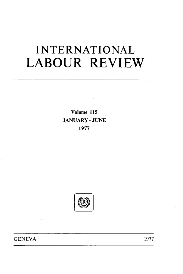 handle is hein.journals/intlr115 and id is 1 raw text is: INTERNATIONAL