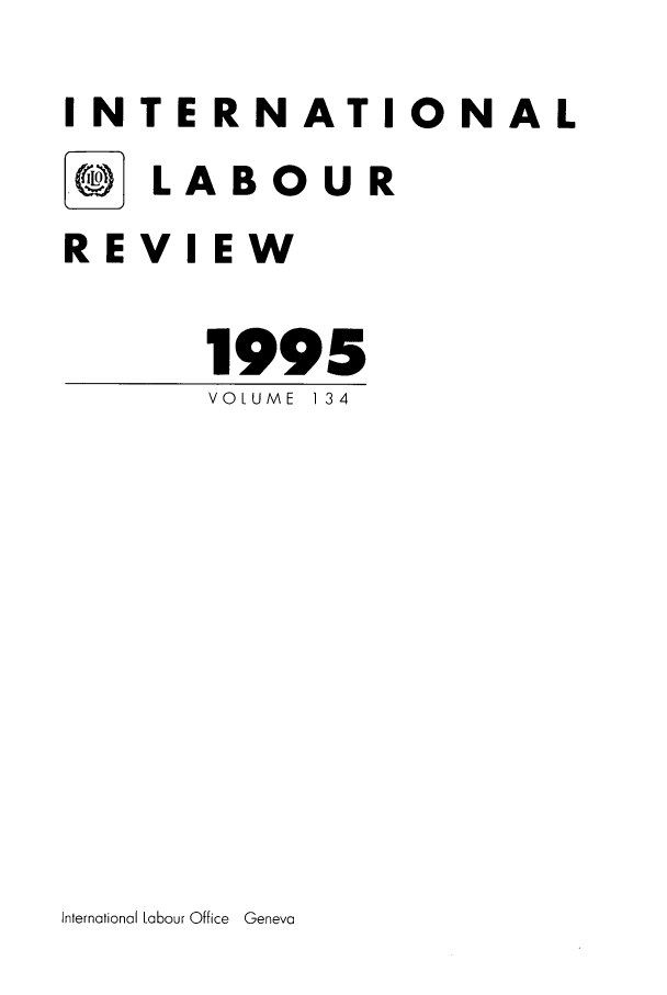 handle is hein.journals/intlr134 and id is 1 raw text is: INTERNATIONAL
