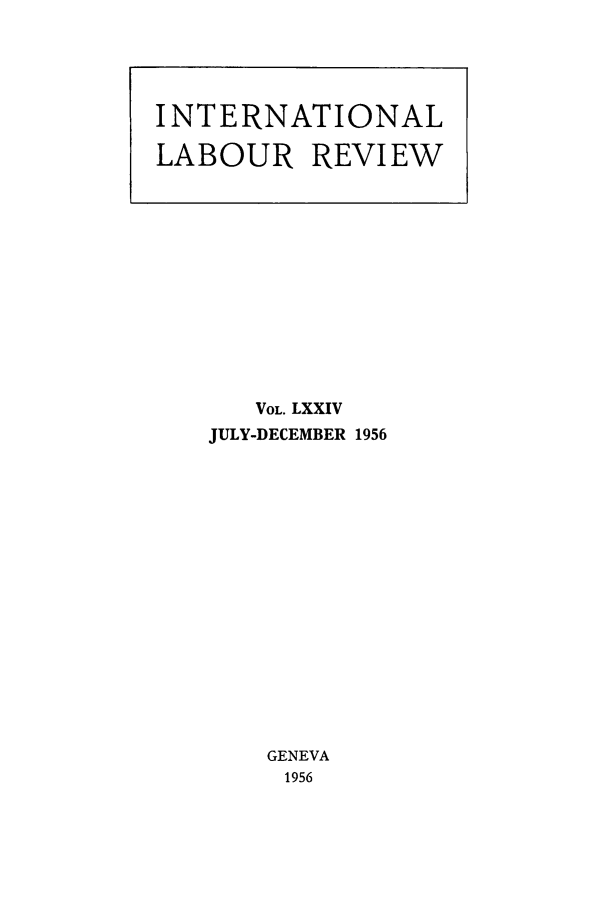 handle is hein.journals/intlr74 and id is 1 raw text is: VOL. LXXIV