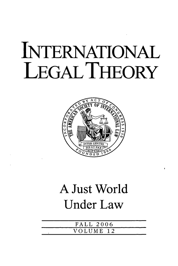 handle is hein.journals/intlt12 and id is 1 raw text is: INTERNATIONAL