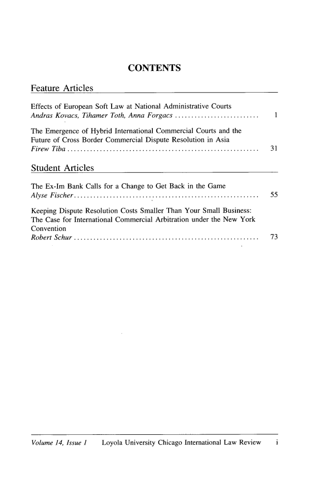 handle is hein.journals/intnlwrv14 and id is 1 raw text is: 