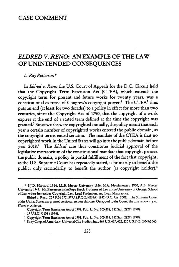 case comment on the principle of Critique the impact of the principle of the supremacy of european community law on the principle of parliamentary sovereignty in the constitution of the united kingdom.