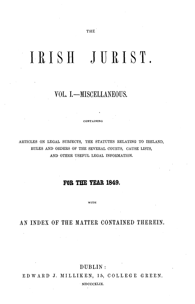 handle is hein.journals/irshjrst1 and id is 1 raw text is: 