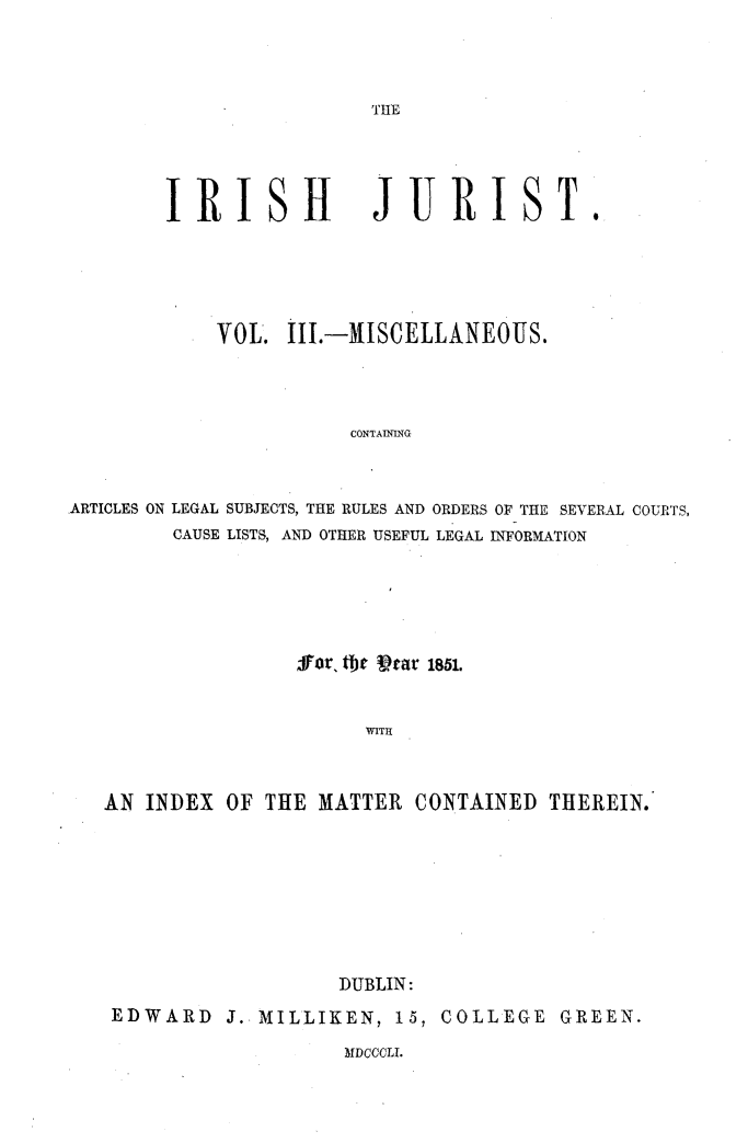 handle is hein.journals/irshjrst3 and id is 1 raw text is: 