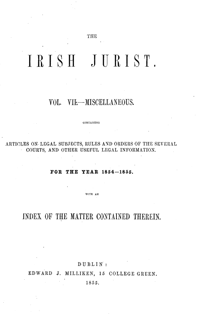 handle is hein.journals/irshjrst7 and id is 1 raw text is: 