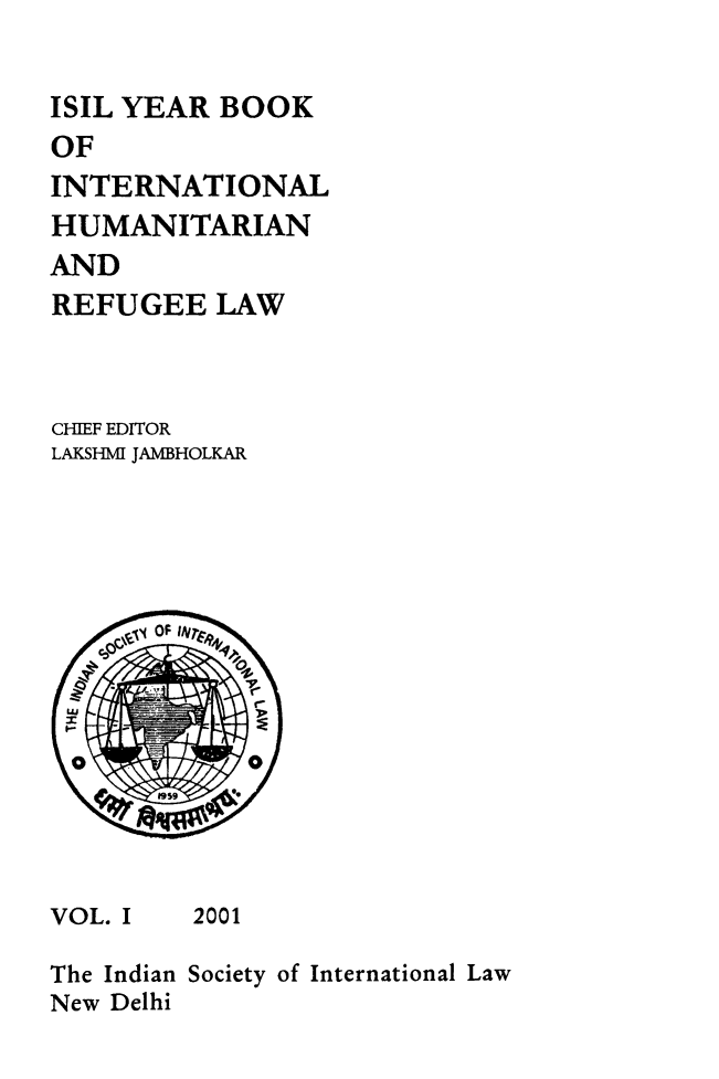 handle is hein.journals/isilyrbk1 and id is 1 raw text is: 