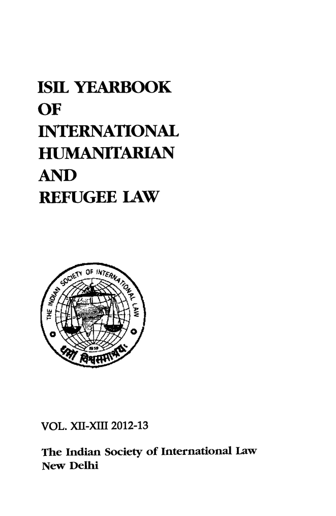 handle is hein.journals/isilyrbk12 and id is 1 raw text is: 