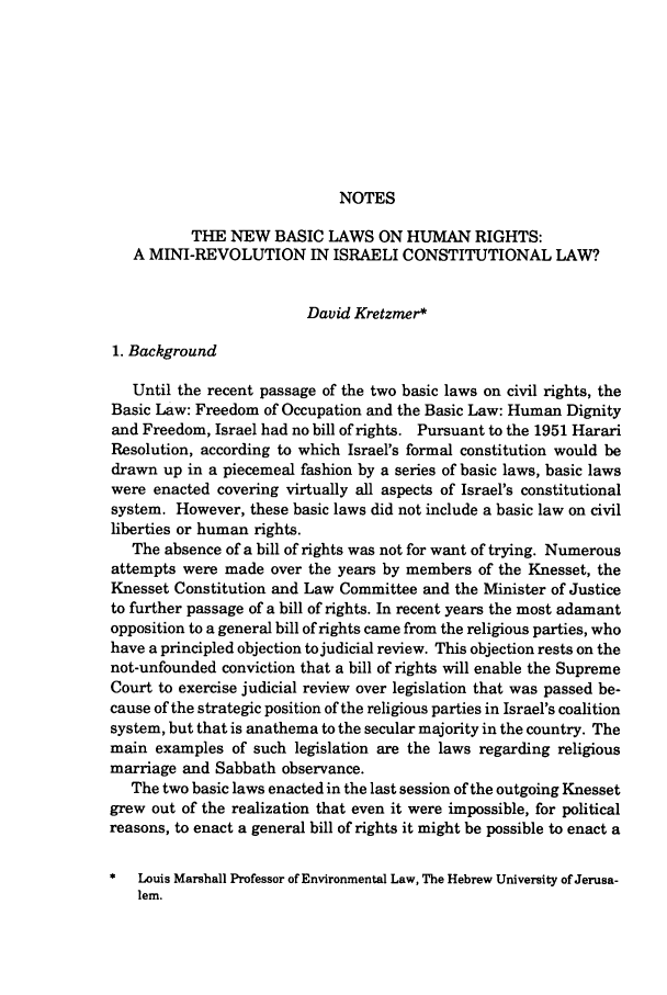 handle is hein.journals/israel26 and id is 248 raw text is: NOTES
