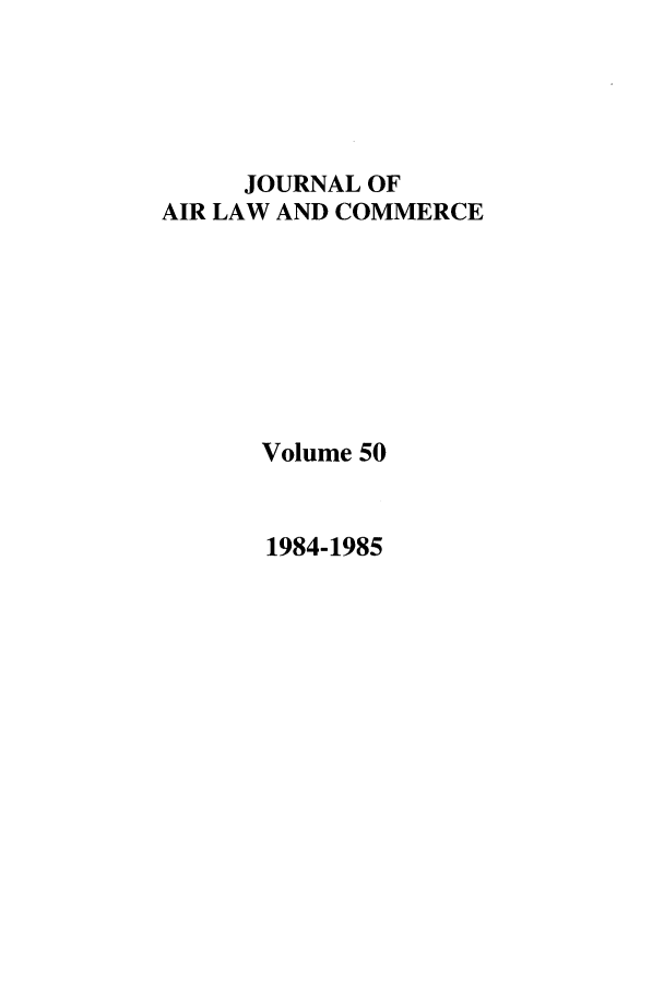 handle is hein.journals/jalc50 and id is 1 raw text is: JOURNAL OF