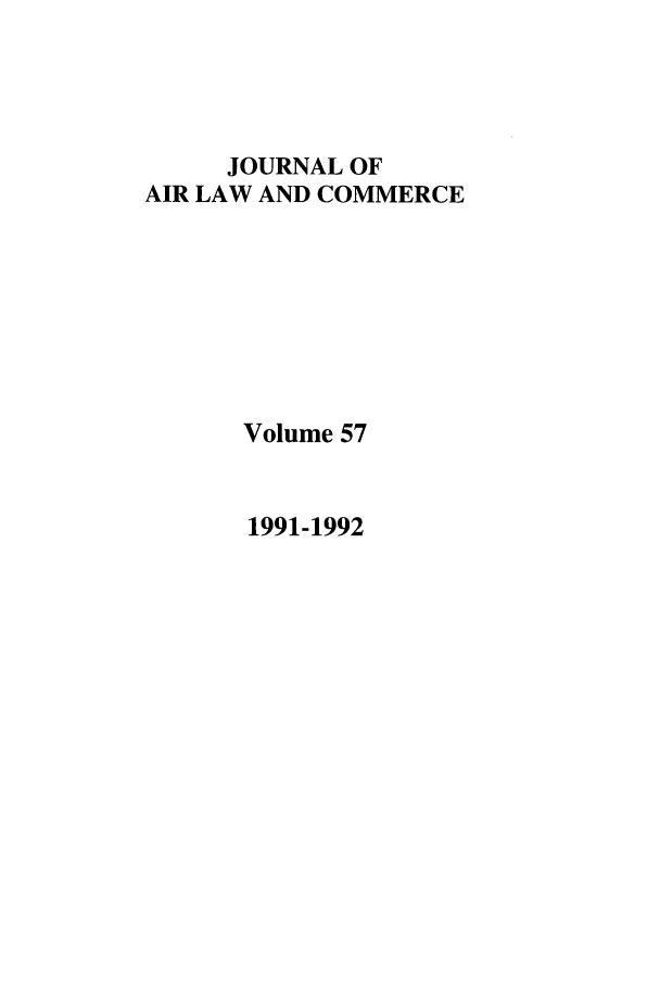 handle is hein.journals/jalc57 and id is 1 raw text is: JOURNAL OF