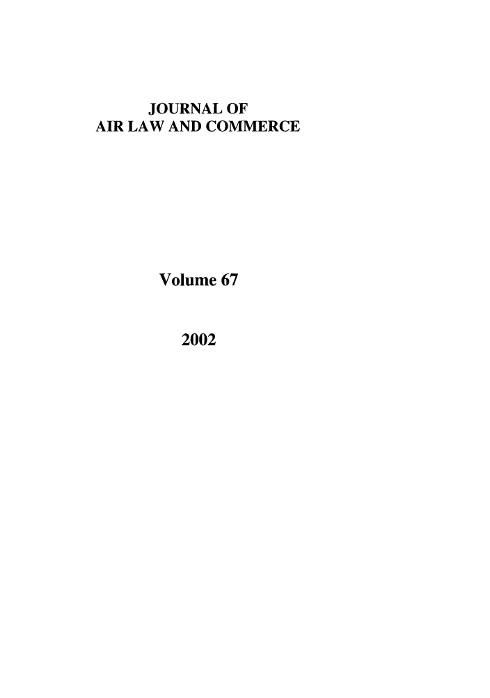 handle is hein.journals/jalc67 and id is 1 raw text is: JOURNAL OF