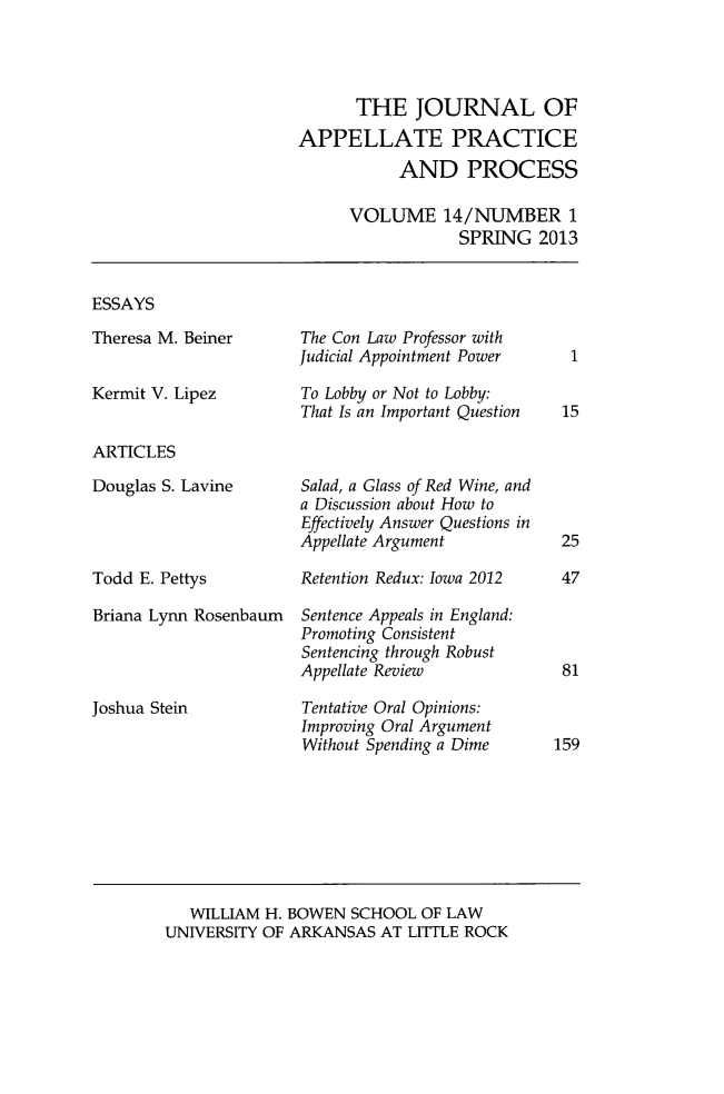 handle is hein.journals/jappp14 and id is 1 raw text is: THE JOURNAL OF
