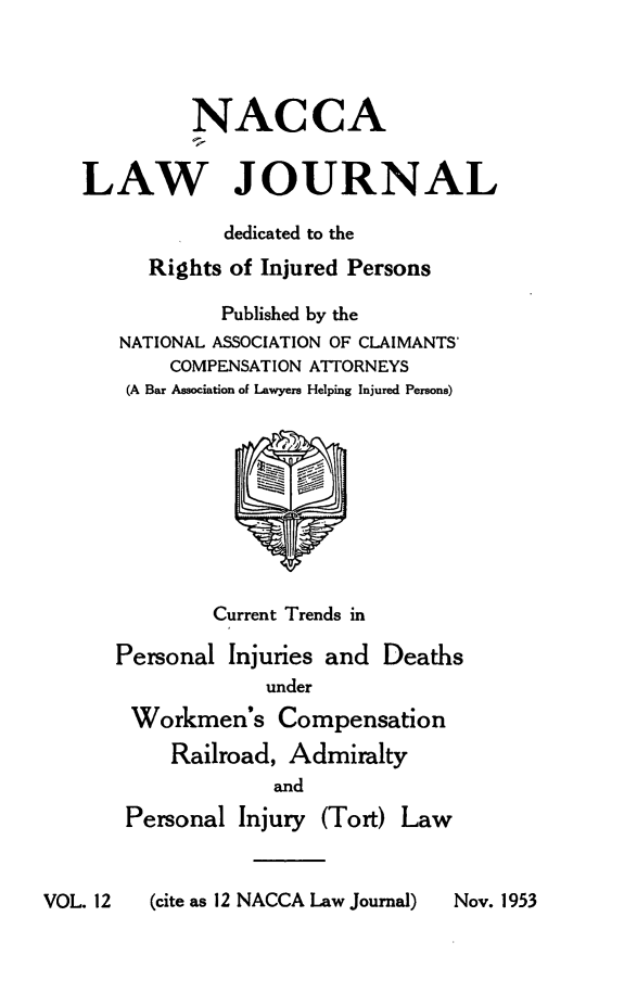 handle is hein.journals/jatla12 and id is 1 raw text is: 