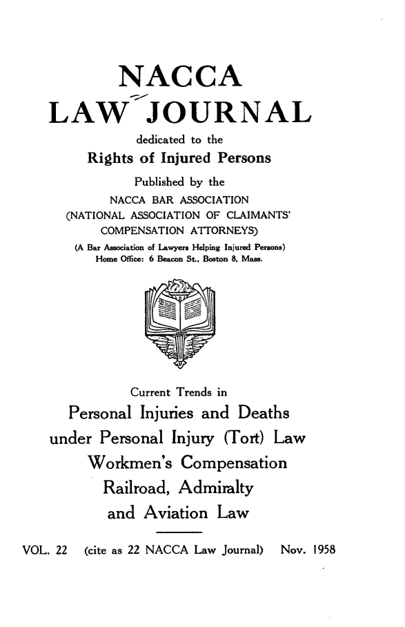 handle is hein.journals/jatla22 and id is 1 raw text is: 