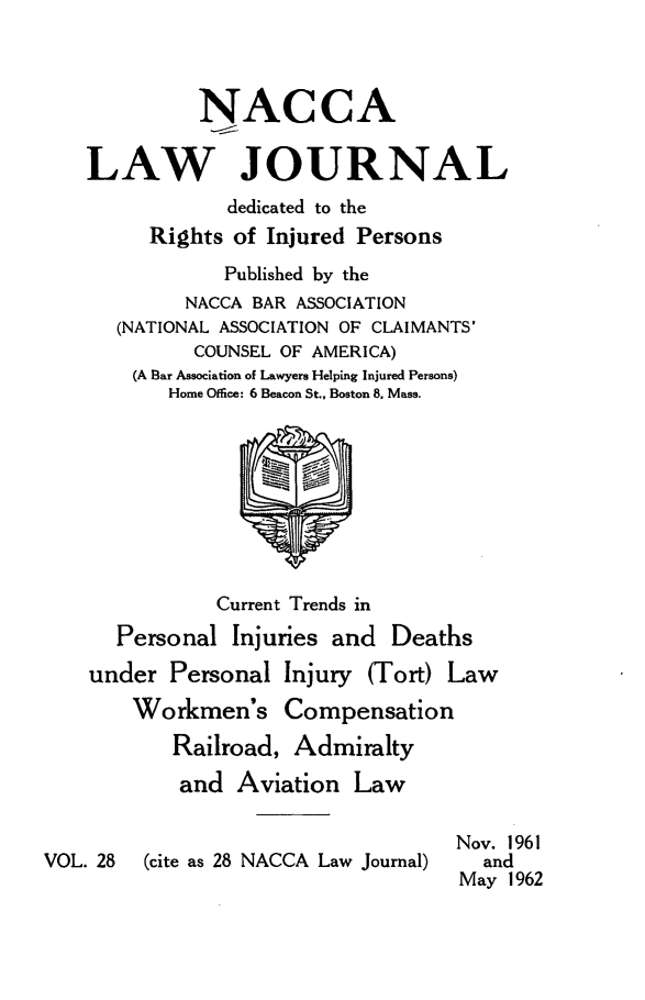 handle is hein.journals/jatla28 and id is 1 raw text is: 
