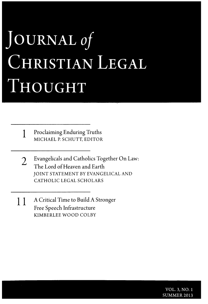 handle is hein.journals/jchlet3 and id is 1 raw text is: OURNALo