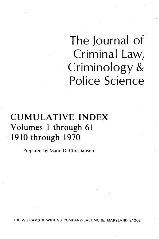 handle is hein.journals/jclc1061 and id is 1 raw text is: 