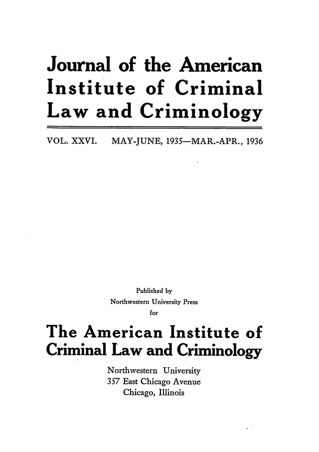handle is hein.journals/jclc26 and id is 1 raw text is: Journal of