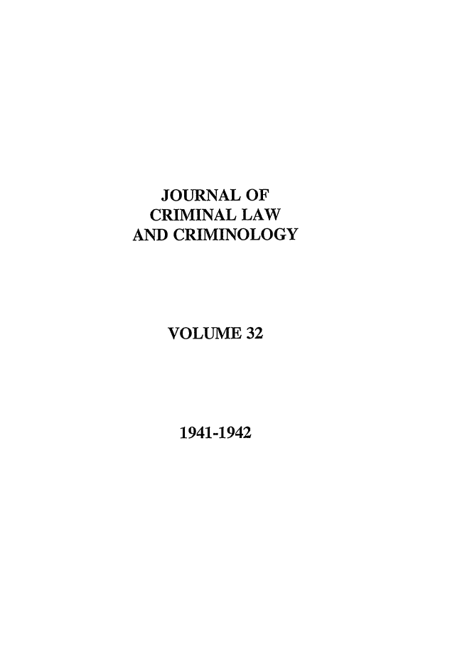 handle is hein.journals/jclc32 and id is 1 raw text is: JOURNAL OF