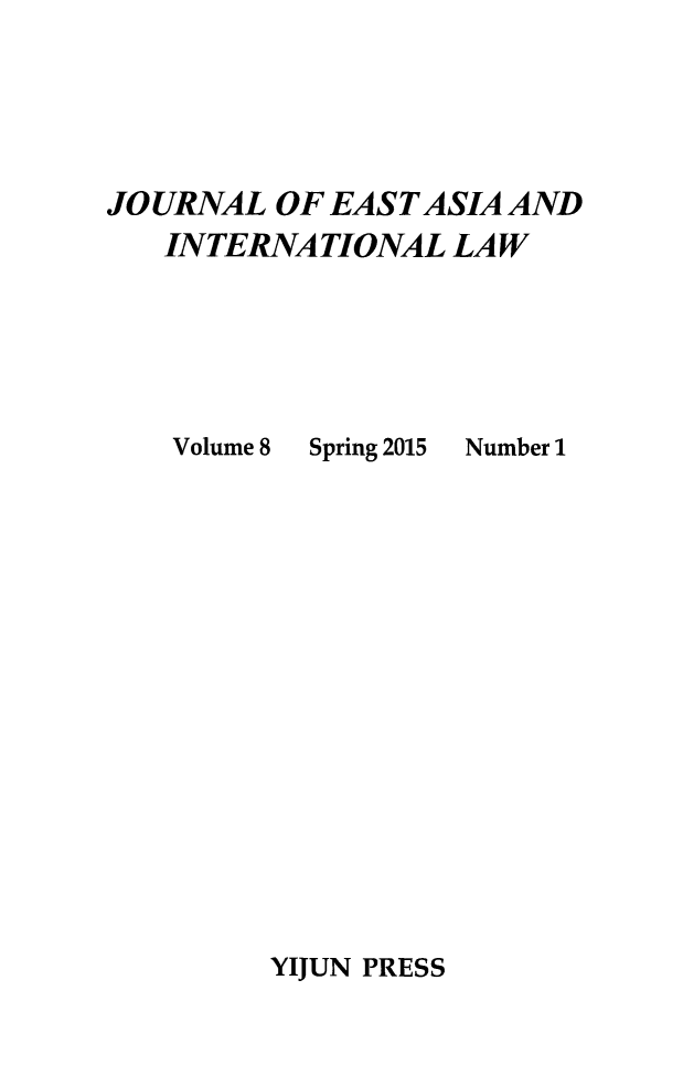 handle is hein.journals/jeasil8 and id is 1 raw text is: 