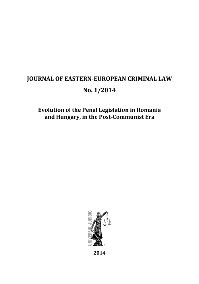 handle is hein.journals/jeeucl1 and id is 1 raw text is: 