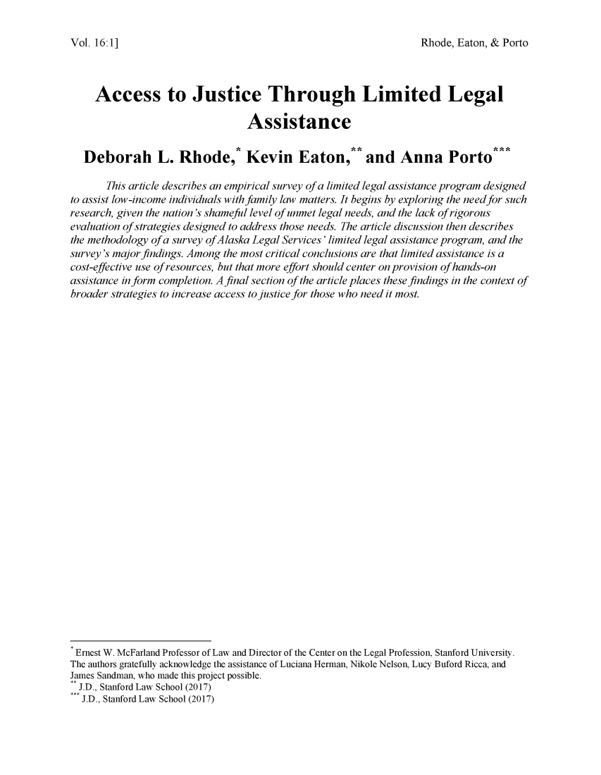 handle is hein.journals/jihr16 and id is 1 raw text is: 