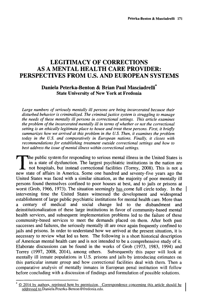 handle is hein.journals/jijis13 and id is 183 raw text is: Peterka-Benton & Masciadrelli 171