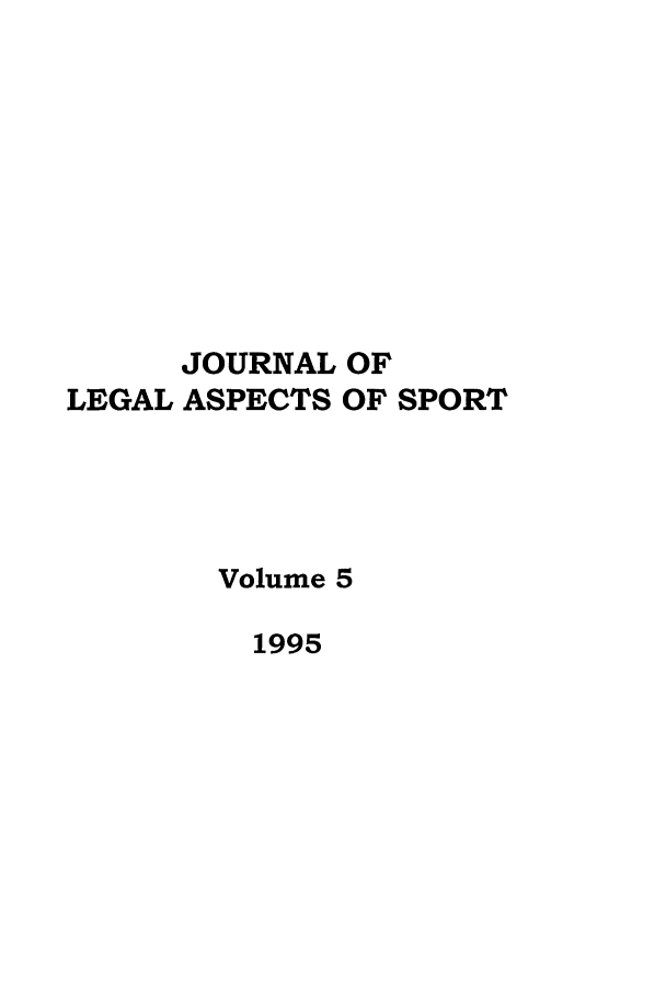 handle is hein.journals/jlas5 and id is 1 raw text is: JOURNAL OF