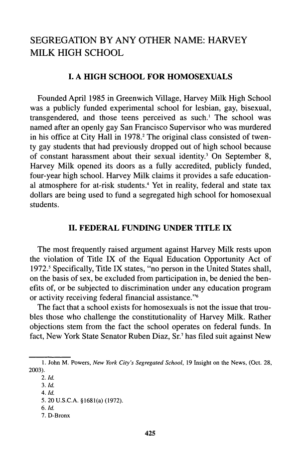 inequalã â ty of educational opportunities in turkey segregation by any other name harvey milk high school 71566